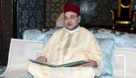 الملك يبعث برقية تعزية لعائلة الشيخ حمزة