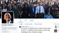 أوباما يغرد خارج البيت الأبيض ويسلم حساب تويتر للرئيس الجديد !