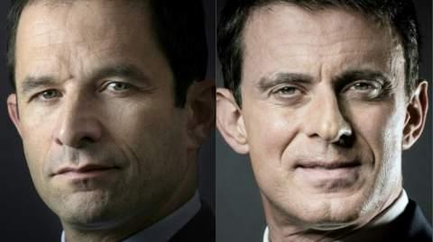 فالس وبونوا امون إلى الدورة الثانية من انتخابات اليسار الفرنسي التمهيدية