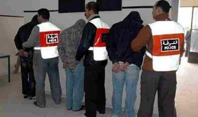 توقيف عصابة متورطة في سرقة المحلات ووكالات تحويل الأموال بأكادير