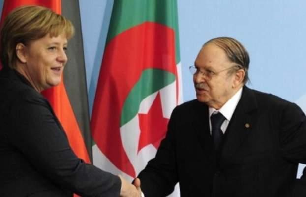 تأجيل زيارة ميركل للجزائر بسبب مرض بوتفليقة