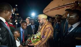 الملك يغادر لوساكا في ختام زيارة رسمية إلى جمهورية زامبيا