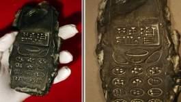 بالصور.. هاتف محمول يعود للحضارة السومرية !