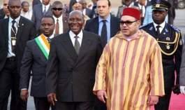 #الملك_في_إفريقيا.. محمد السادس يحل بعاصمة كوت ديفوار