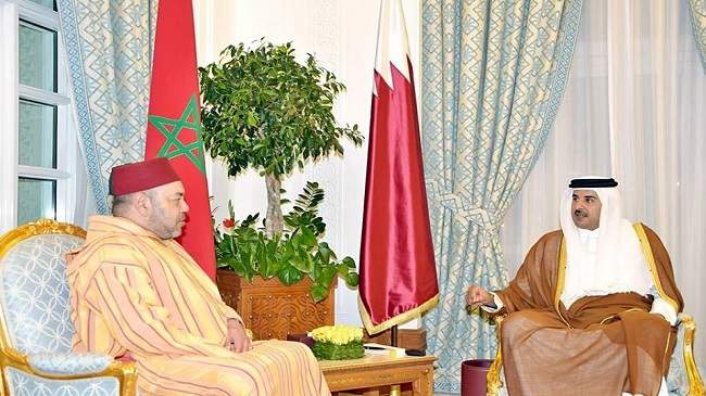 مزوار ينقل رسالة شفوية من محمد السادس إلى أمير دولة قطر