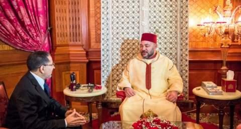 العثماني يقدم قائمة وزراء حكومته إلى الملك محمد السادس