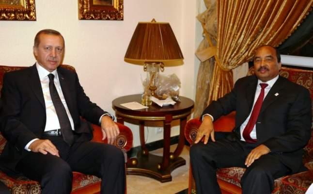 رئيس تركيا يهدد ولد عبد العزيز بسبب مدارس غولن في موريتانيا