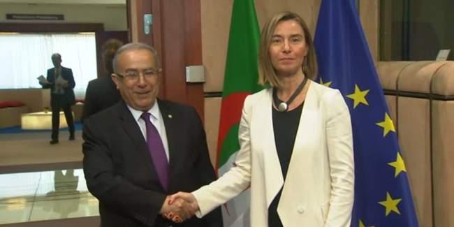 موغريني من الجزائر: موقف أوروبا لم يتغير تجاه قضية الصحراء
