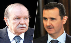 """بوتفليقة يهنئ بشار الأسد أياما قليلة على مجزرة """"خان شيخون"""""""