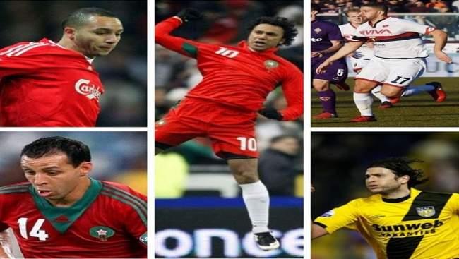5 نجوم مغاربة تألقوا في أوروبا وفشلوا مع أسود الأطلس