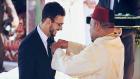 هل التقى الملك محمد السادس بسعد المجرد في باريس ؟