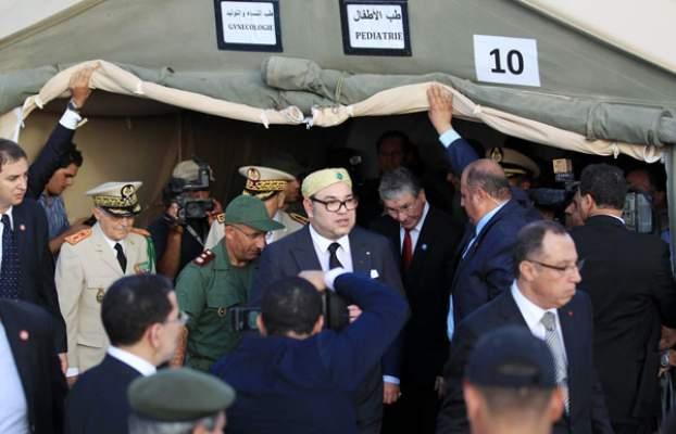 جبهة الانقاد السورية تناشد الملك بشأن اللاجئين العالقين على الحدود الجزائرية