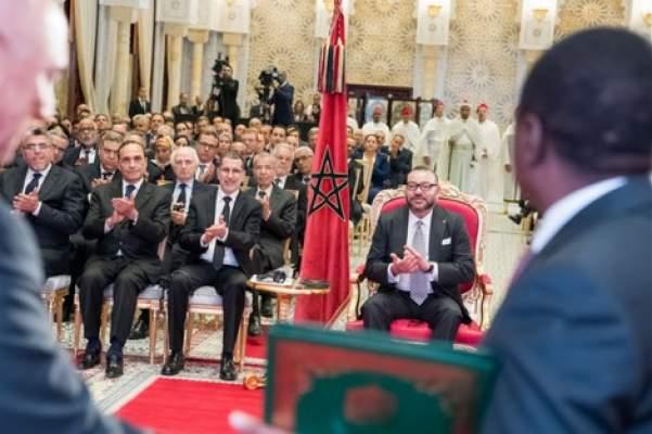 الملك يترأس بالرباط التوقيع على اتفاقيتي أنبوب الغاز نيجيريا- المغرب والأسمدة