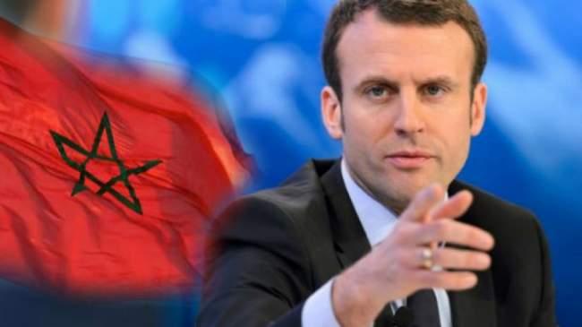 """ماكرون يستبق أزمة دبلوماسية مع المغرب ويسحب ترشيح """"عيشي"""""""