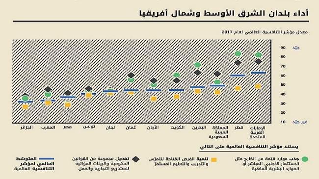 تقرير يظهر تباينا في مستوى تنافسية المواهب العربية وجاهزيتها لمستقبل العمل