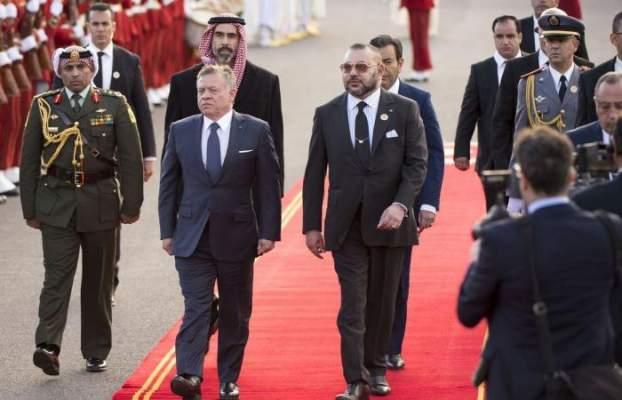 العاهل الأردني يتصل هاتفيا بالملك محمد السادس تزامنا مع أزمة قطر