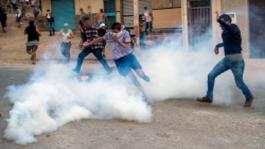 الأمن يلجأ إلى الغاز المسيل للدموع لتفريق احتجاجات العيد بالحسيمة