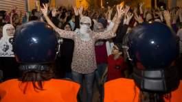 """البوشتاوي لــ""""الأيام24"""": النساء تعرضن للركل والرفس بشكل مهين في الحسيمة"""