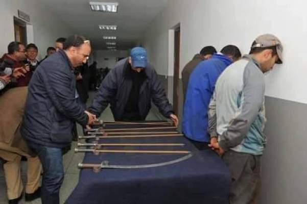 أمن قنيطرة يوقف عصابة خطيرة من ثلاثة أشخاص