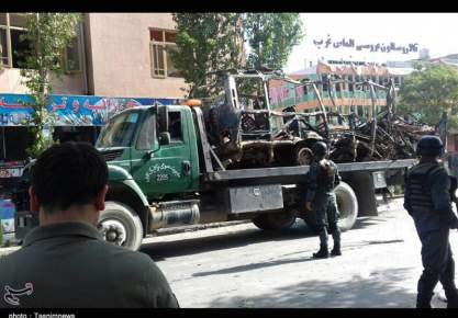26 قتيلا وعشرات الجرحى اثر انفجار سيارة مفخخة وسط كابول