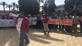 تصعيد جديد للأساتذة المتضررين من الحركة الانتقالية واعتصام يستمر 3 أيام أمام وزارة حصاد