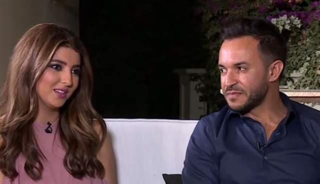 """مريم سعيد """"تهاجم"""" خطيبها السابق بطريقة غريبة(فيديو)"""