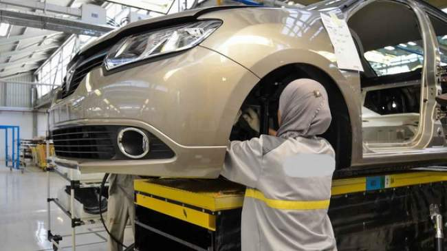 المغرب يتزعم دول شمال إفريقيا في صناعة السيارات