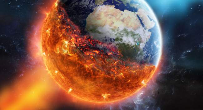 """السيناريو الأقرب لـ""""نهاية العالم"""""""