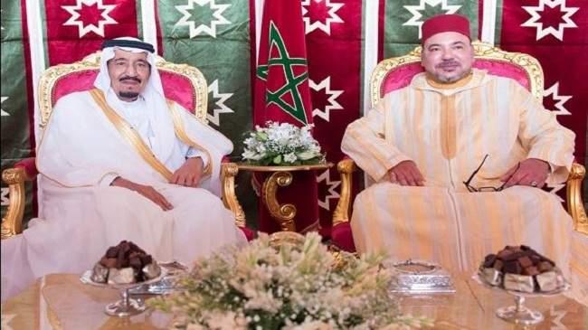 الملك محمد السادس يلتقي بملك السعودية في طنجة