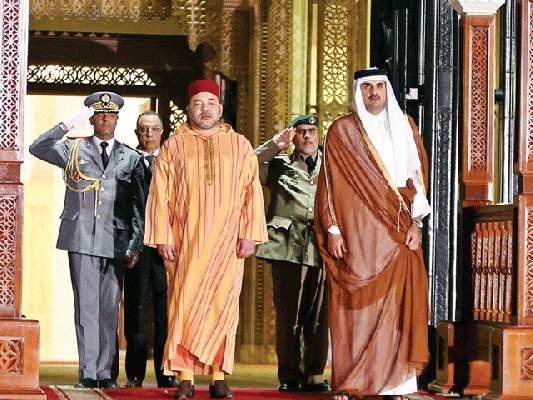 رسالة أمير قطر للملك محمد السادس بمناسبة نجاح العملية الجراحية