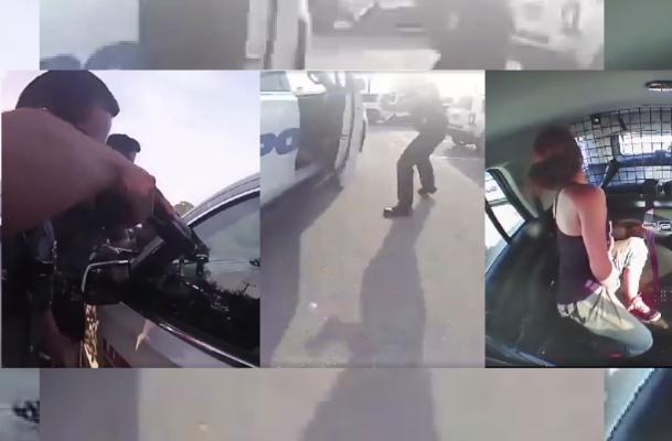شرطة تكساس تنشر فيديو لسارقة تقوم بعملية هروب هوليودية