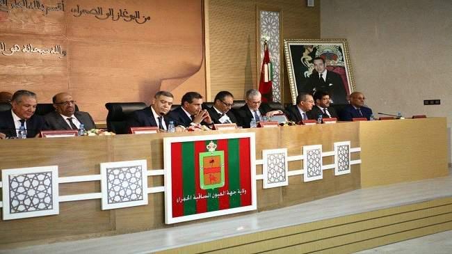 هذه هي تفاصيل اجتماع الوفد الوزاري بالعيون بأوامر ملكية