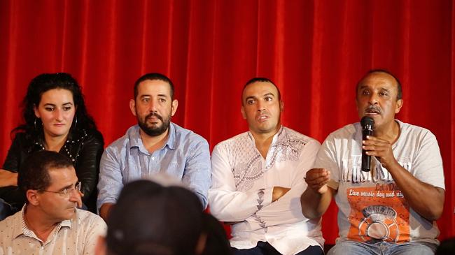 صور..سعيد الناصري يجمع مواهب المسرح في الدار البيضاء