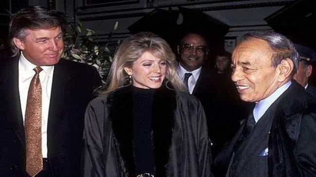بالصور..حين دعا الملك الراحل الحسن الثاني دونالد ترامب لزيارة المغرب