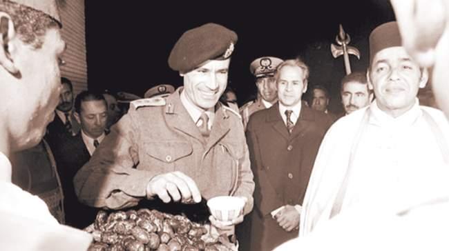 الراحل الحسن الثاني و مخطـط اغتيــال القذافــي