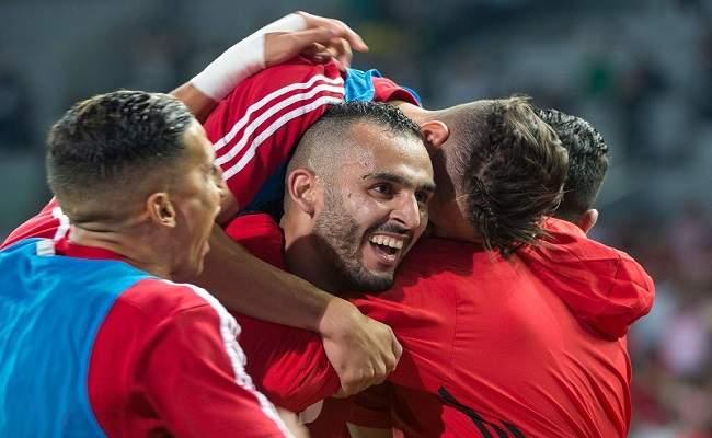 الفرحة تعم أرجاء المغرب بعد فوز الأسود على الغابون