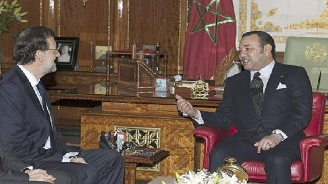 الملك يبعث برقية لرئيس حكومة إسبانيا.. هذا مضمونها
