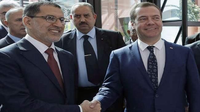 العثماني يفاجئ رئيس وزراء روسيا برسالة من محمد السادس.. هذه مضامينها