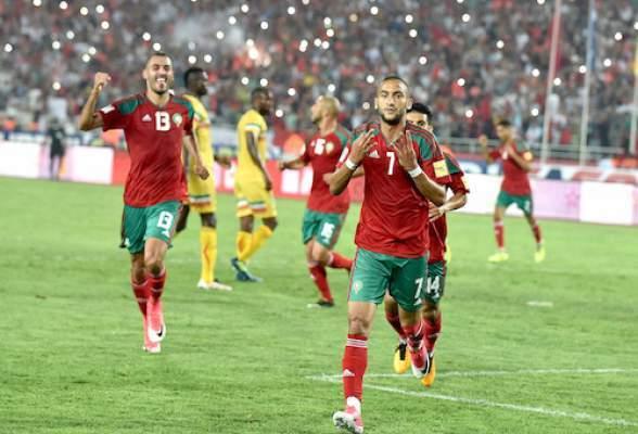 التشكيلة الرسمية للمنتخب المغربي لمواجهة الكوت الديفوار