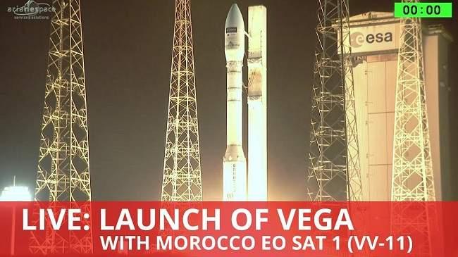 القمر الصناعي المغربي يصل إلى مداره بنجاح.. إليكم التفاصيل الكاملة لعملية الإطلاق (فيديو)