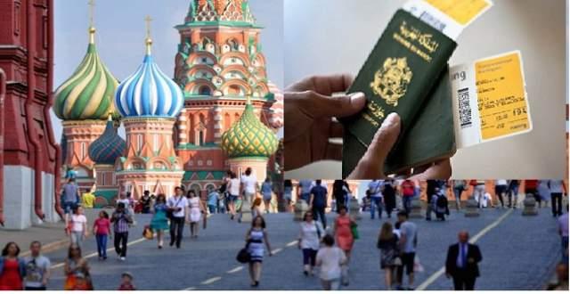 """حقيقة إلغاء """"فيزا"""" روسيا عن جماهير المنتخب المغربي"""