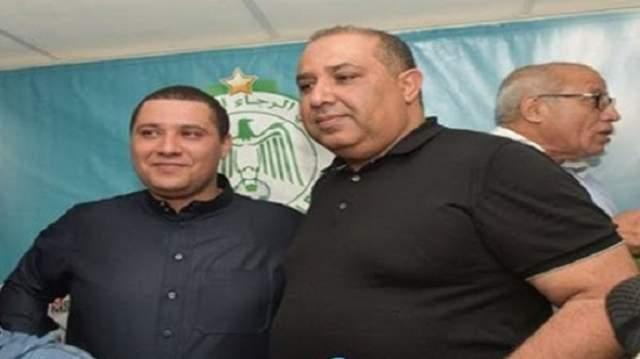 بودريقة يهدي لاعبي الرجاء منحة دسمة بعد التتويج بكأس العرش