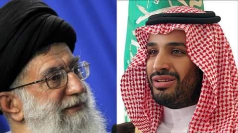 """""""هتلر الجديد""""..ابن سلمان يطلق النار على مرشد إيران"""