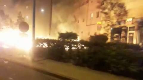 استنفار وفوضى قرب محطة ولاد زيان بسبب مواجهات بين أفارقة ومواطنين