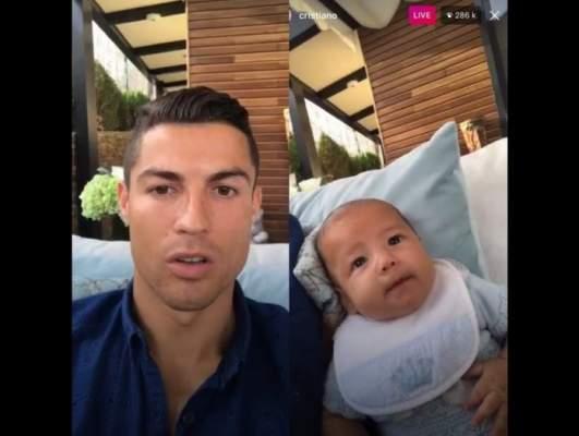 أول فيديو بث مباشرلرونالدو يتحدث عن قرعة المونديال وعن المغرب