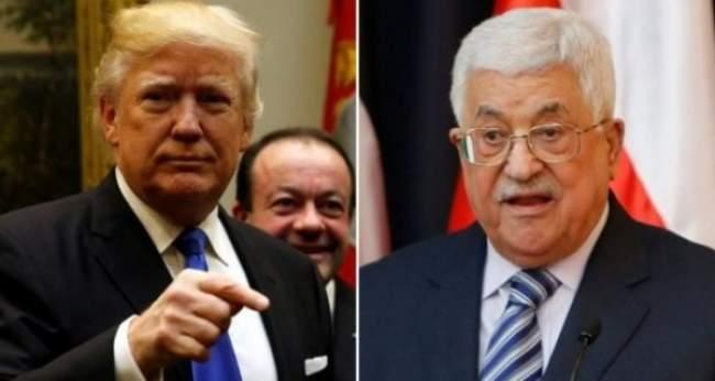 أول رد رسمي من الرئيس الفلسطيني على قرار ترامب