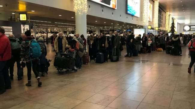 الكثير من الرحلات ألغيت بين أوربا والمغرب بسبب الأحوال الجوية