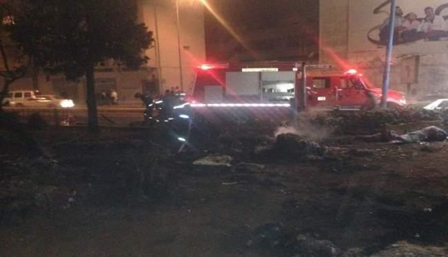 أول صورة للقنبلة التي عثر عليها بالدار البيضاء