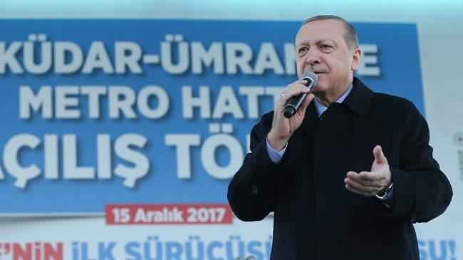 تصريح مثير للرئيس التركي عن سقوط مكة وفقدان الكعبة بسبب القدس