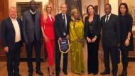 سفير المغرب بموسكو يستقبل ملكة جمال روسيا